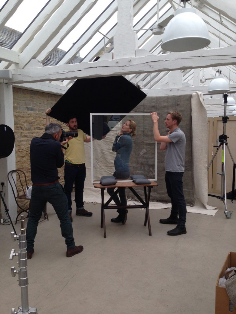 Behind Scenes Bamford Shoot