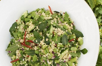 Broad Bean Bulgar Wheat Herb