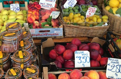 Fruits and Vegetables at the Portofino Market