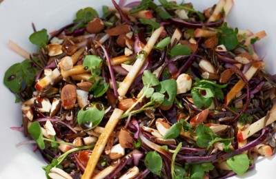 Wild Rice Red Cabbage