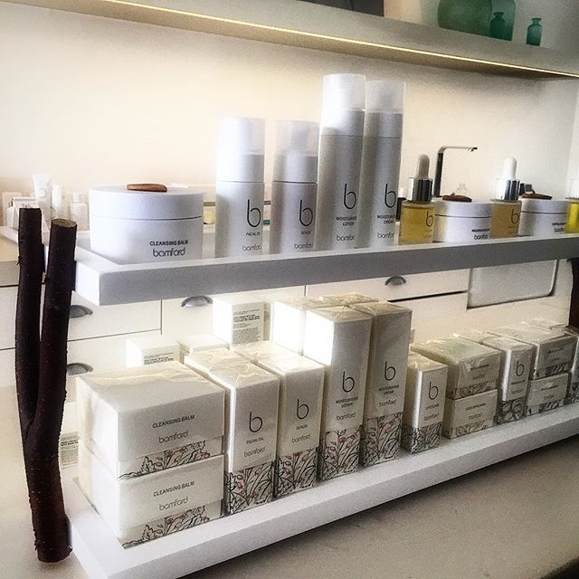 So excited today we launch our bamford skincare range #organic #developedbytherapists #spa treatment #nonasties available in our stores @fortnums and on line bamford.co.uk