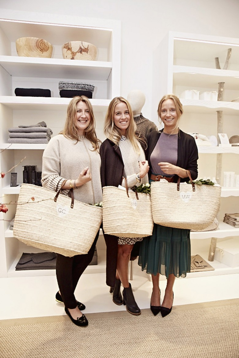 Guests smiling at the new Bamford store in South Audley Street
