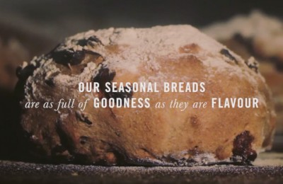 A screenshot from the Daylesford Seasonal - Give Us Our Daily Bread