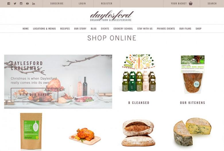 Daylesford Website