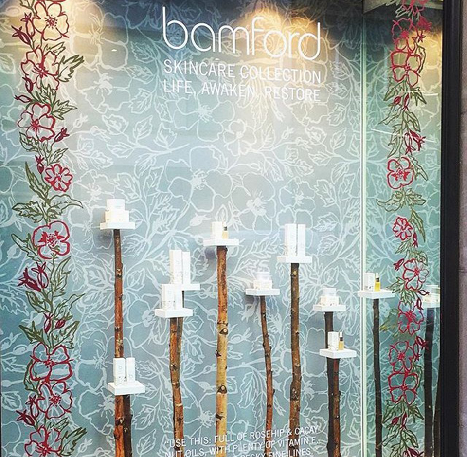 Bamford Skincare Windows and Fenwick