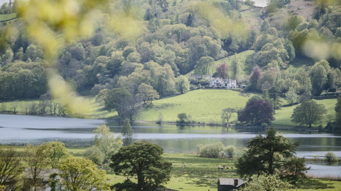 Picture of Allan Bank and Grasmere in peak district