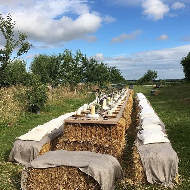 Reminiscing about our big picnic at the farm - some of my favourite pictures from the evening are now on my blog #peace #love #picnic #summer #farmlife #fieldtofork #organic #cotswolds @daylesfordfarm