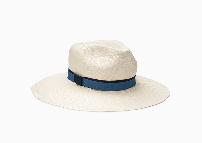 fedora straw hat