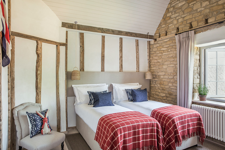 moat cottage bedroom