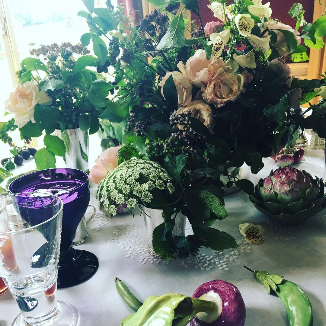All flowers from the garden today #tabletop #englishsummer