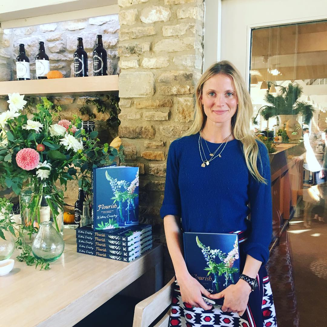Such a lovely inspirational book Flourish @willowcrossleyflowers @daylesfordfarm