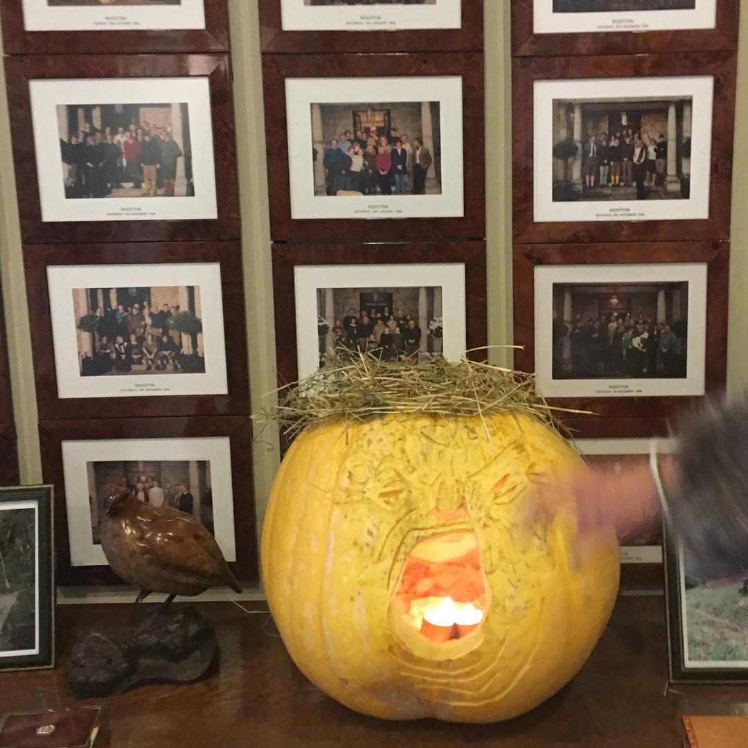 Trumpkin the pumpkin #Halloween