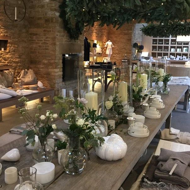 Lots of gift ideas in the Bamford Barn #tableware #homeware #artisan #heart #madebyhand #christmas #cotswolds @bamfordjournal