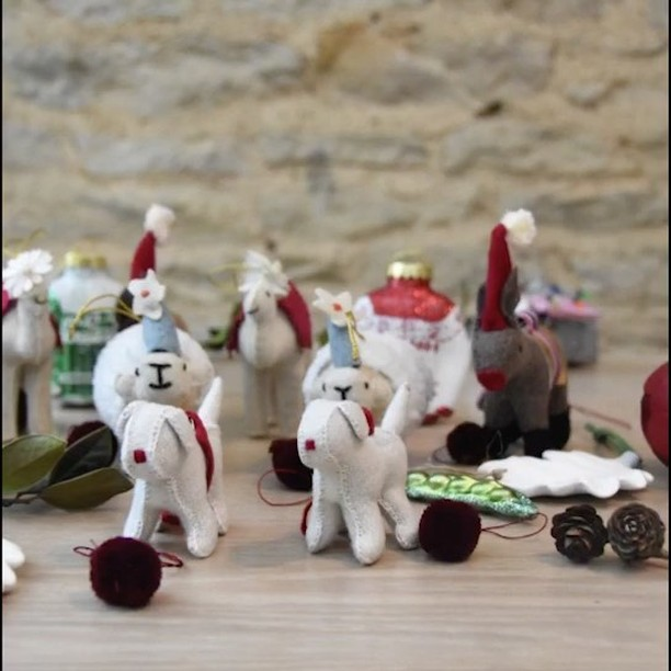 Love this short video of our Christmas decorations, all hand made by ladies working with our charitable trust in India #incredibleindia #handicrafts #handmade #christmas #decorations #givingback @daylesfordfarm