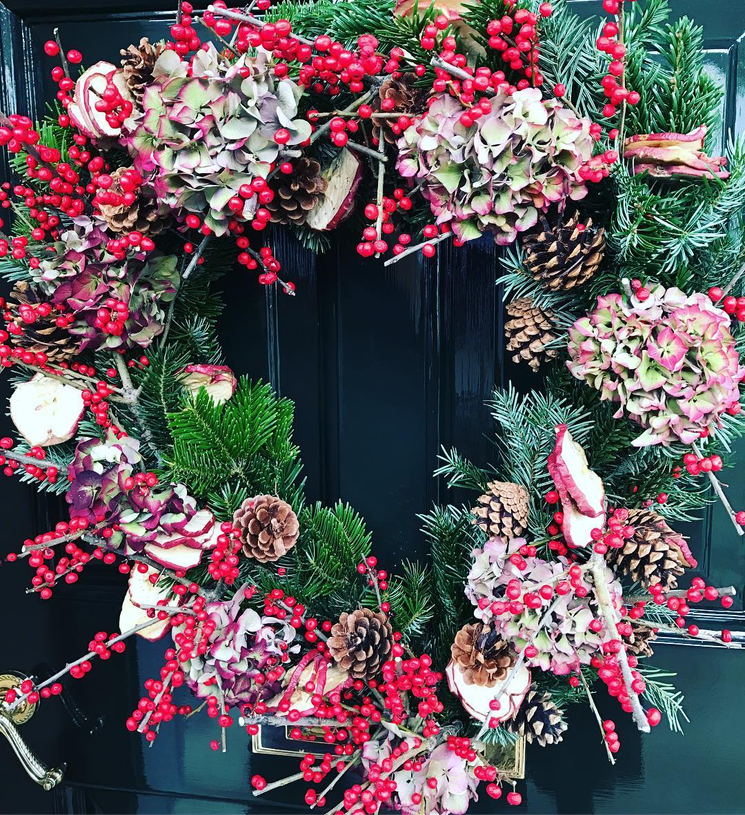 Prefer this one. #christmas #wreath