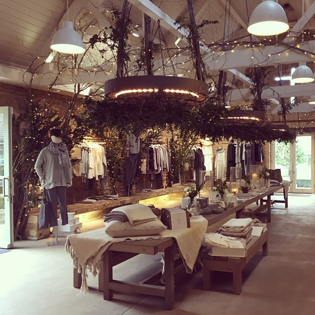 Keeping cosy in the Bamford barn #wintersale #cashmere #wool #silk #slowclothing #conciousluxury @bamfordjournal