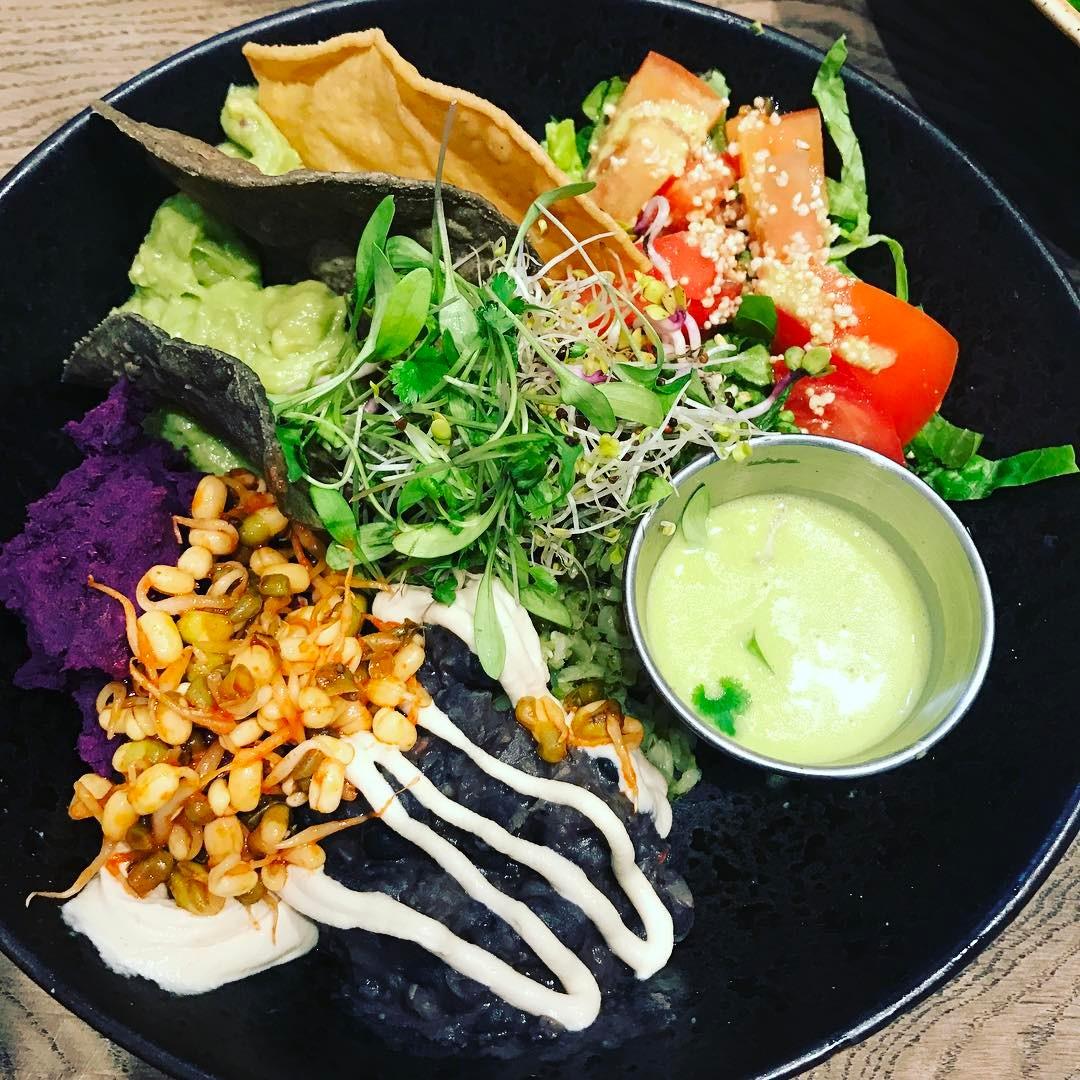 Delicious lunch @farmacyuk #organic #raw