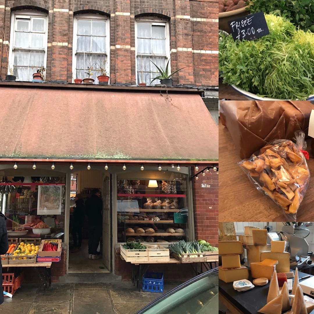 A trip to my favourite deli this morning simple and real good  #Leila's #shoreditch #realfood #greatedit #seasonal