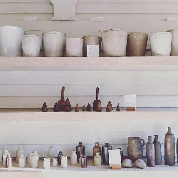 Ceramics in The Dovecote @daylesfordfarm #artisan #ceramics #madebyhand #cotswolds