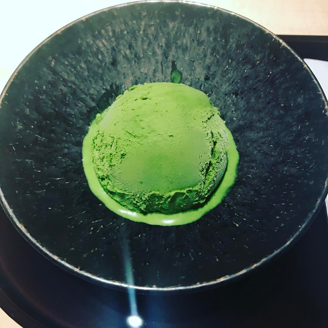 Just the best green tea ice cream. It took two years to developer . First year trying different matcha leaf and then found the perfect blend. #greentea #matcha #tokyo #perfection