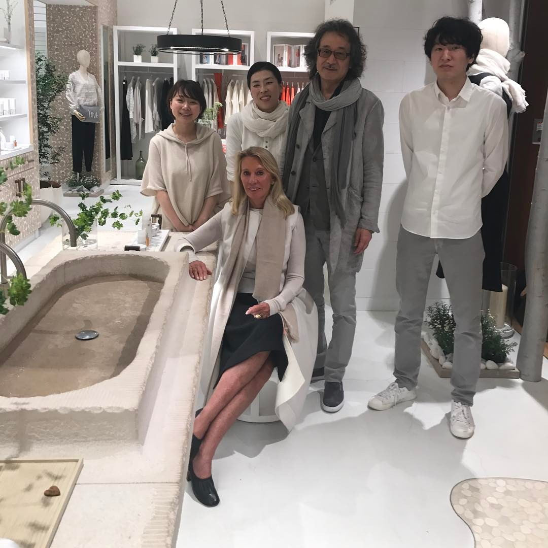 Great to be with the team @bamfordjournal #tokyo