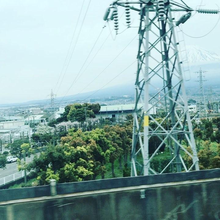 Bullet train. Mount Fuji #tokyo #kyoto #bullettrain