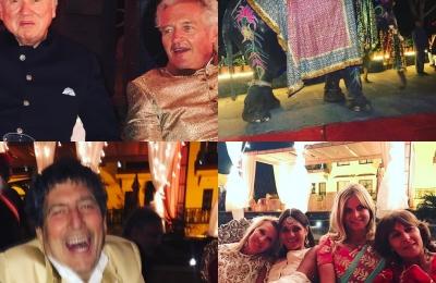 Last night #udaipur #indianwedding #funwithfriends