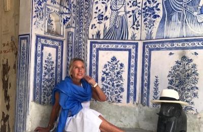 Jaipur blue  thank you @debbievonbismarck #jaipur #blue