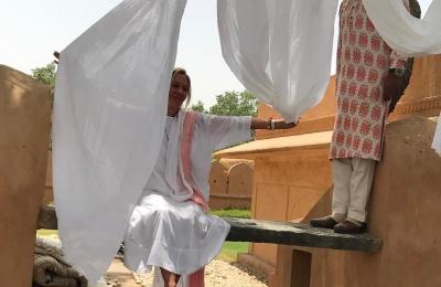 Beautiful handwoven cotton Khadi #artisan #handmadeinthevillages #organic #sustainableluxury