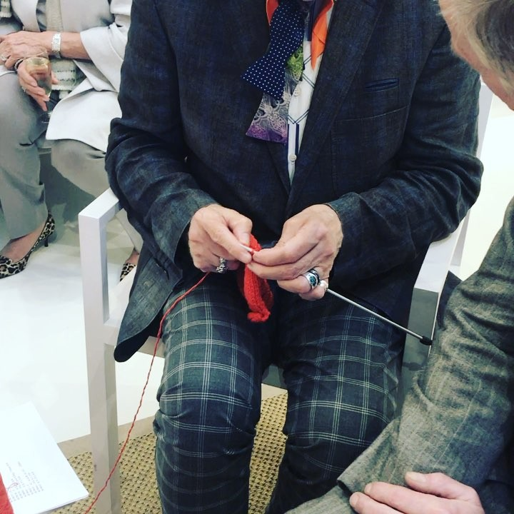 Proud to support #londoncraftweek @bamfordjournal #workofthehand #handmade #artisan #handknit
