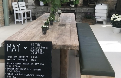 Come and join us in the new workshop @daylesfordfarm