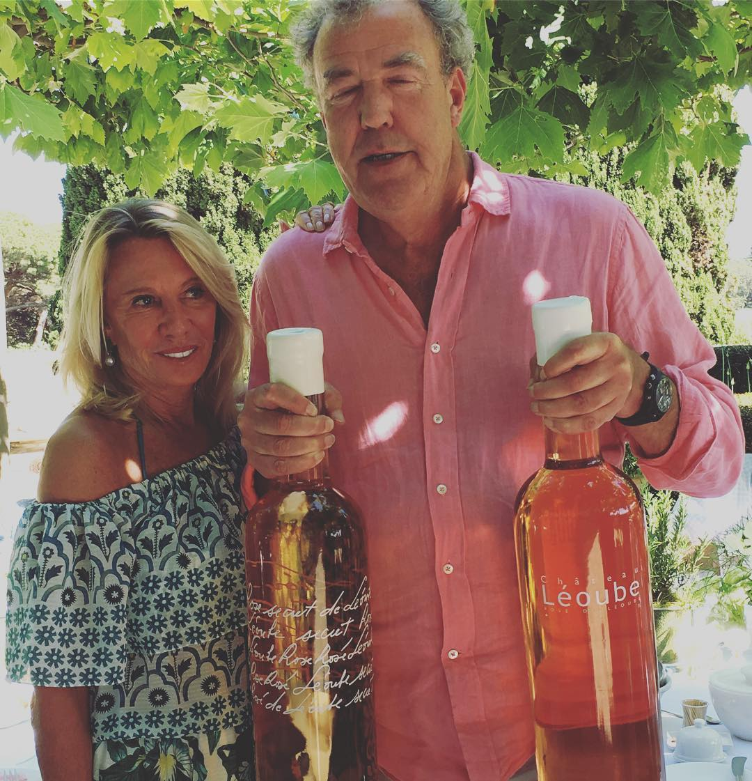 It's a pink day @leoube #jeremyclarkson #rose  #leoube #biodynamic