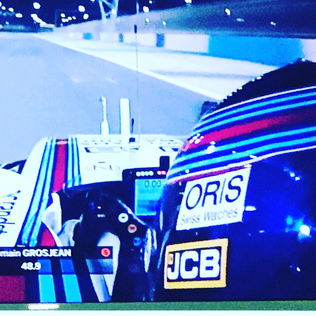 Beyond excited lance Stroll on the podium #Fi #williams @lance_stroll  @claireannestroll 😀 👏👏👏👏👏👏👏