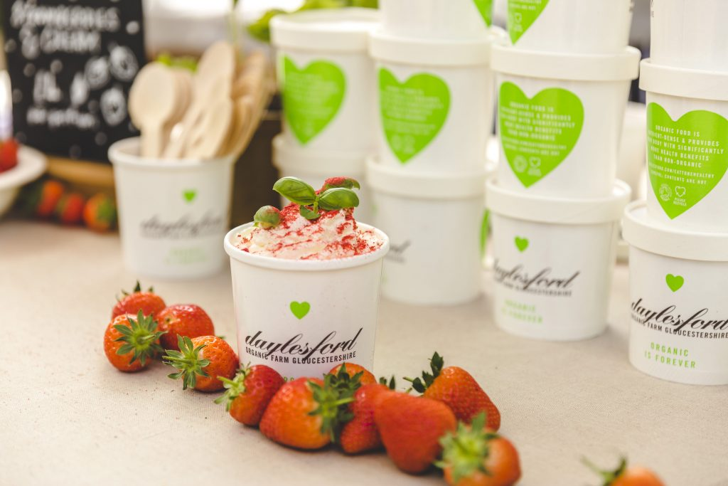 strawberries daylesford summer festival 2017