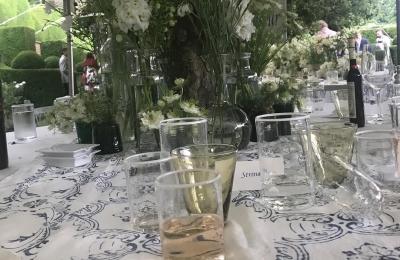 Summer BBQ not much Leoube left. I wonder why? #leoube #rose #summertime