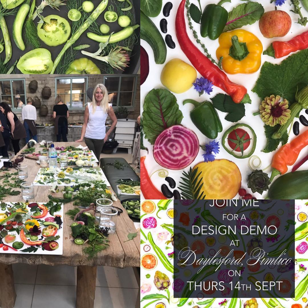 Rawveganblonde's workshop @daylesfordfarm last week was a huge success. Next workshop in Pimlico on the 14th September.