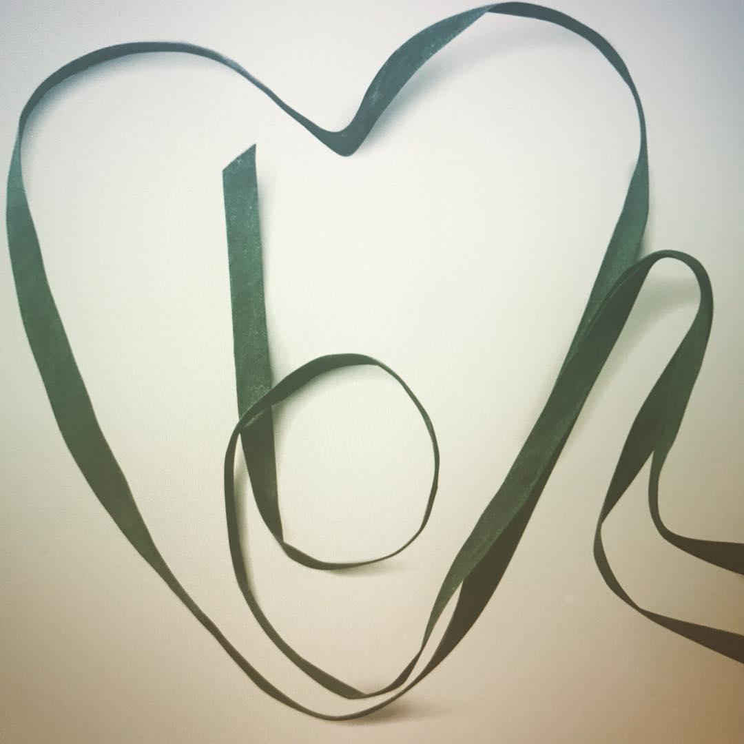 It's a heart @bamfordjournal #worldheartday #heart