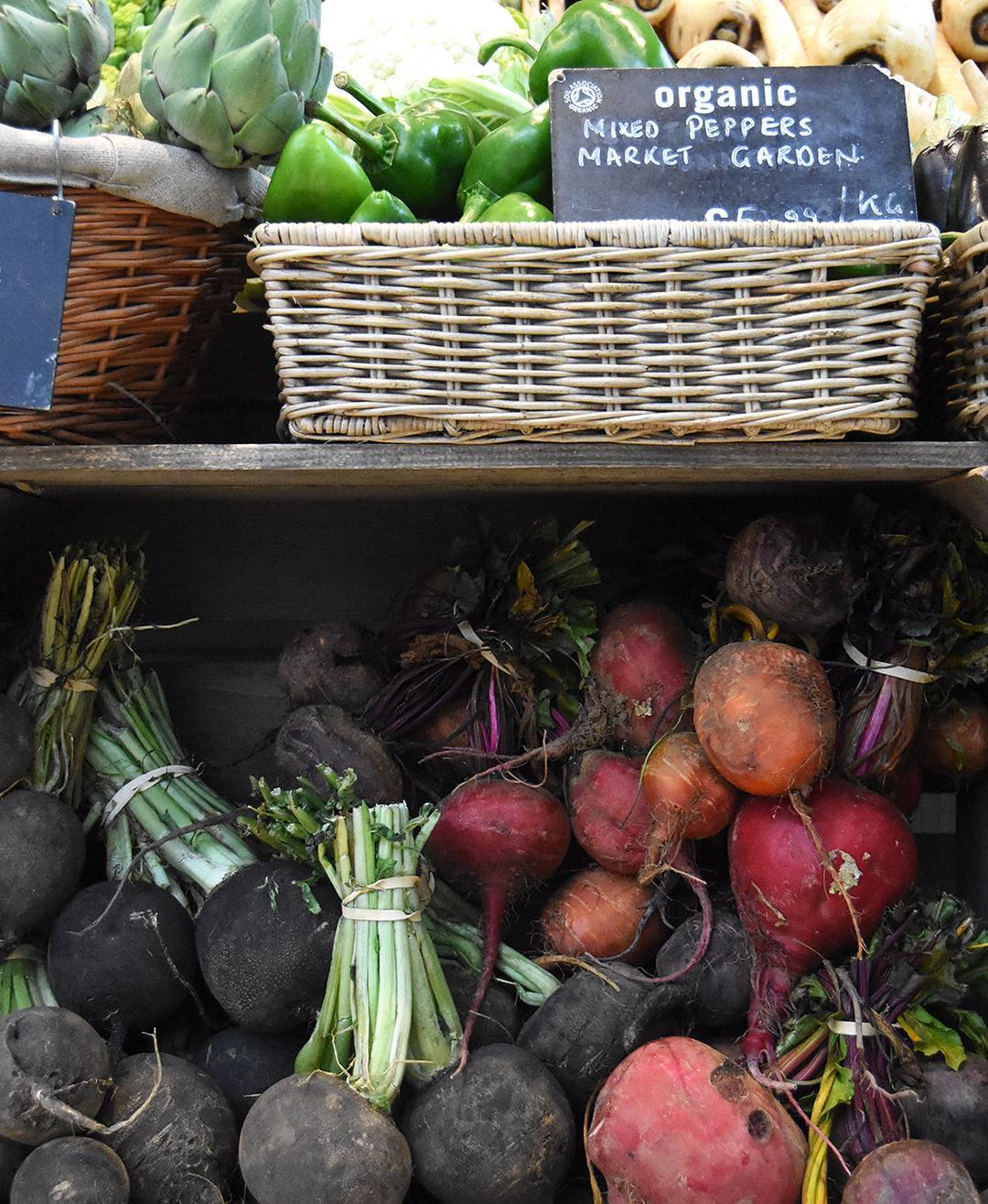 A fresh harvest from our Market Garden at @daylesfordfarm including our wonderfully peppery black radishes. I love them raw in salads with apples a thick Dijon dressing - delicious when roasted & tossed with a little miso, honey and butter too #eattobehealthy #nourish #eatwiththeseasons #nurture #Daylesford 
