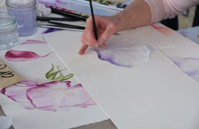 Painting the season: botanical watercolour workshop at Daylesford