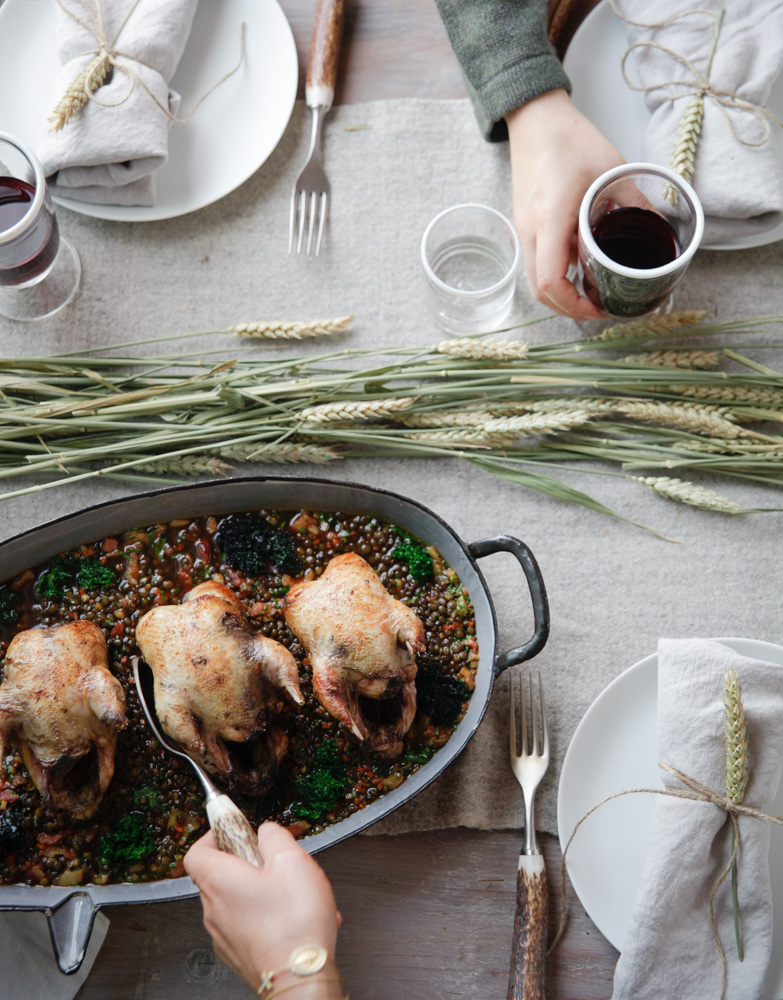 Lentils & Partridge 2