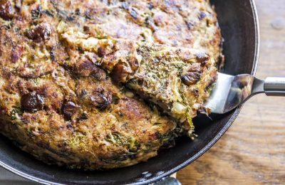 Celebrating Christmas leftovers: Chestnut Bubble and Squeak